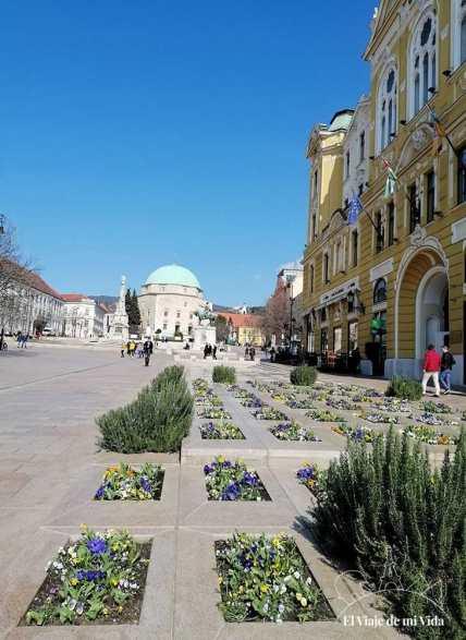 La plaza Szechenyi