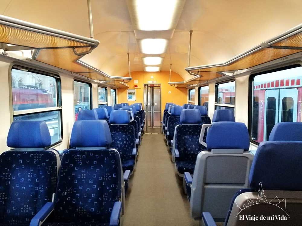 Tren Pécs - Budapest