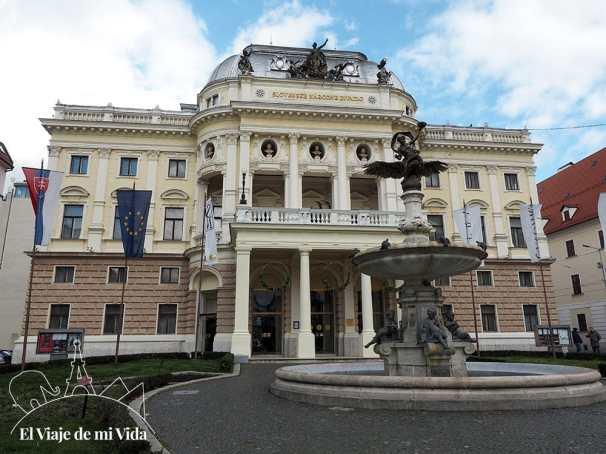 El Teatro Nacional Eslovaco