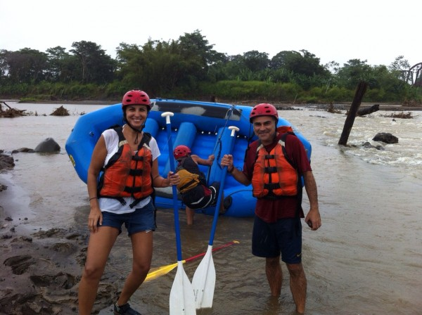 02 Viajefilos en Panama. Rafting en Boquete 01