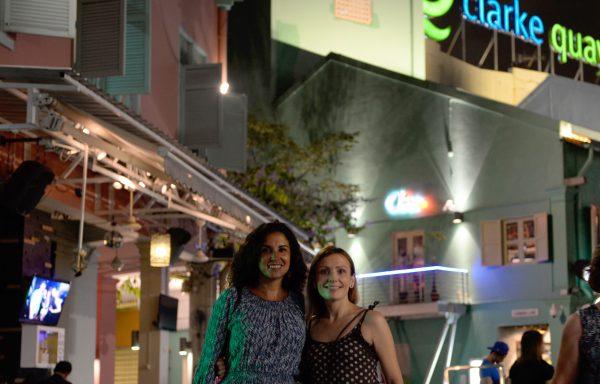 09 Viajefilos en Singapur, Clark QUay noche 05