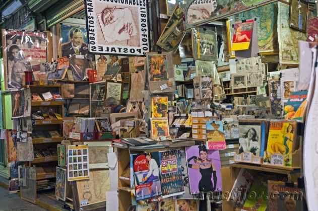 Mercado de antigüedades de San Telmo