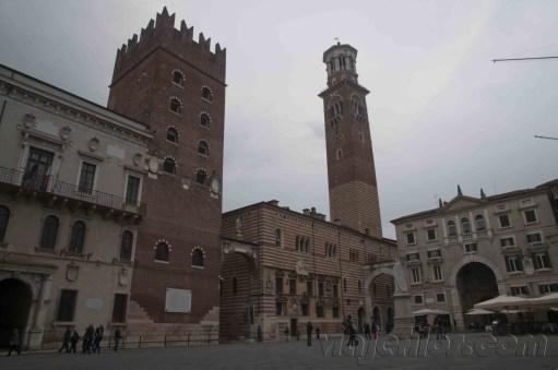 Verona Piazza dei signore