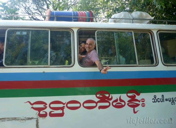 Bus Mandalay-Hsipaw 2