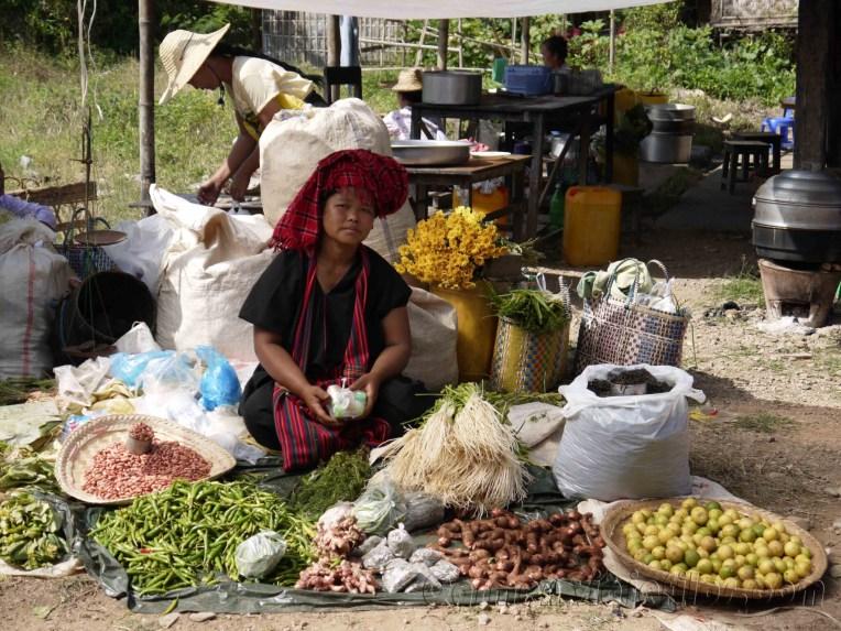 Lago Inle, Mercado de Maing Thauk 01