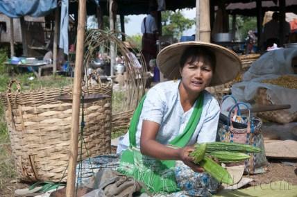 Lago Inle, Mercado de Maing Thauk 03