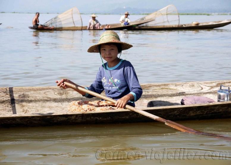 Lago Inle, pescadores 01