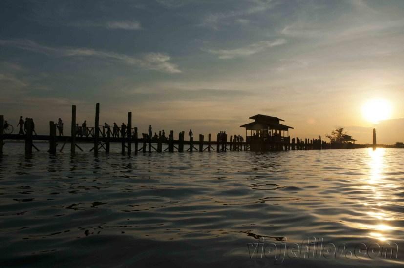 Mandalay, puente de U Bein 4