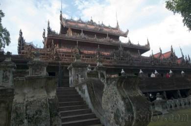 Mandalay, Templo de teca