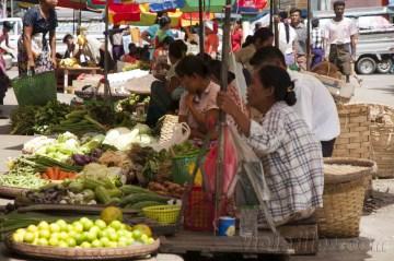 Yangón, mercados 1