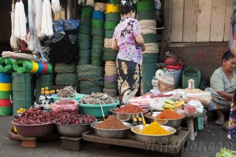 Yangón, mercados de la ciudad 20