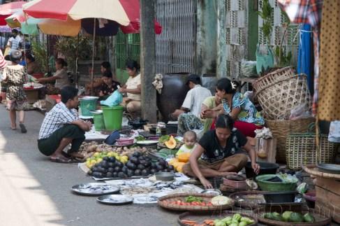 Yangón, mercados de la ciudad 22