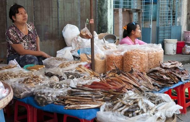 Yangón, mercados de la ciudad 24
