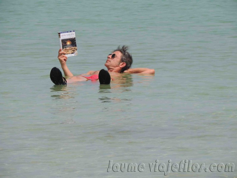 Baño mar muerto