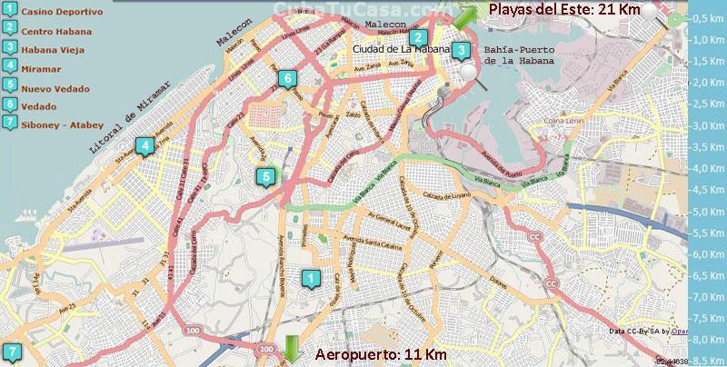 Barrios de La Habana