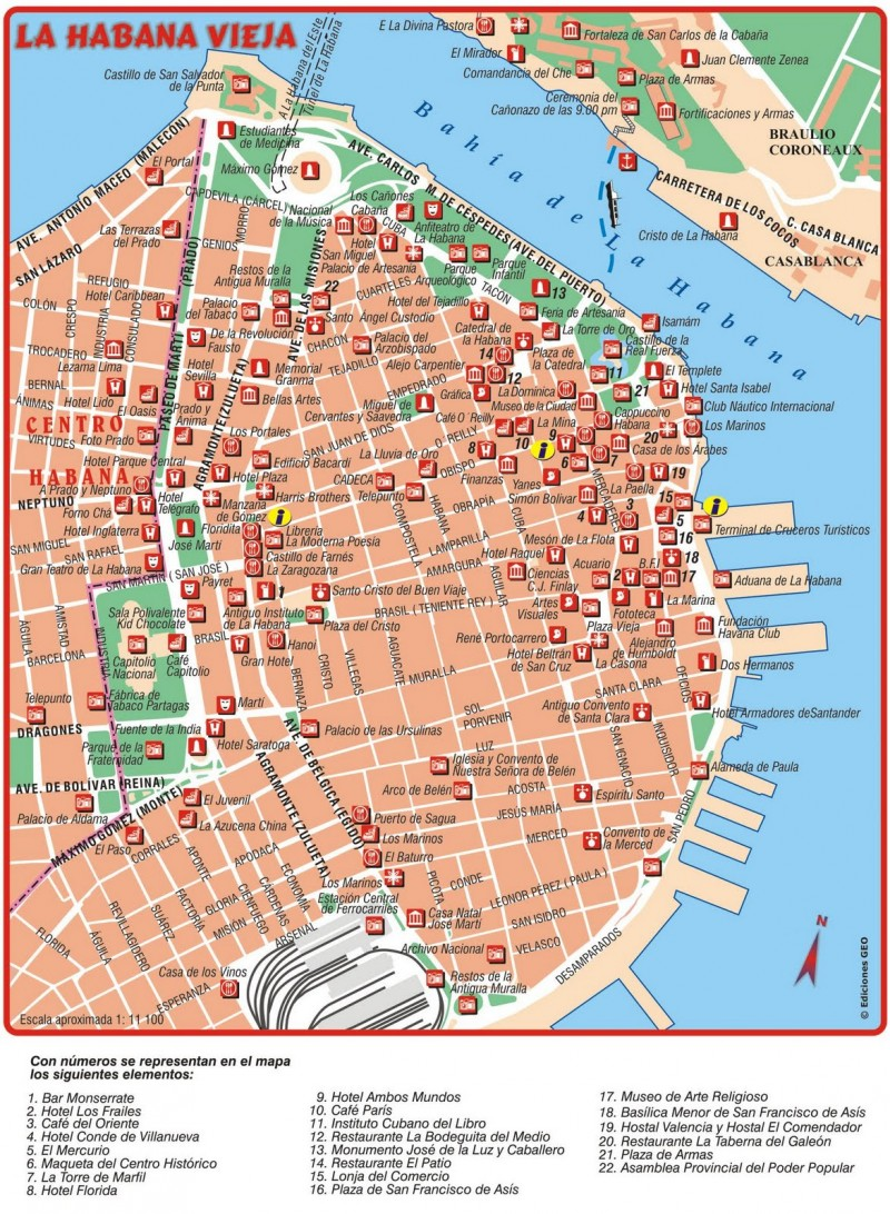 Plano Prado y Capitolio