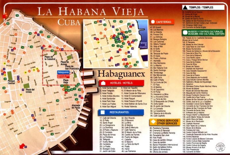 Plano Habana Vieja