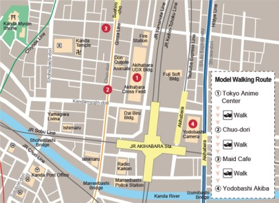 3 Mapa Akihabara Tokyo