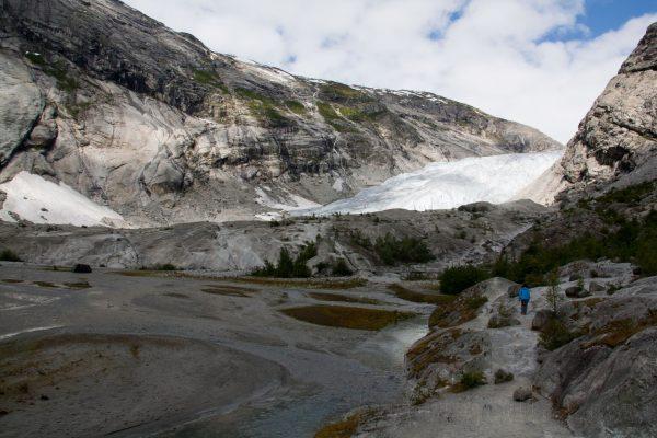 4 viajefilos en Noruega, Nigardebreen 07