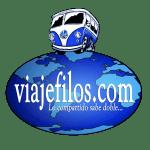 Logo pegatinas viajefilos