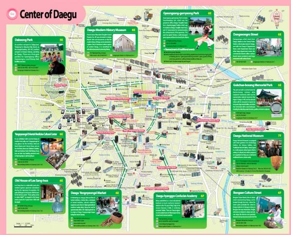 Mapa-Daegu