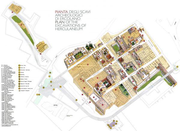 Mapa Herculano
