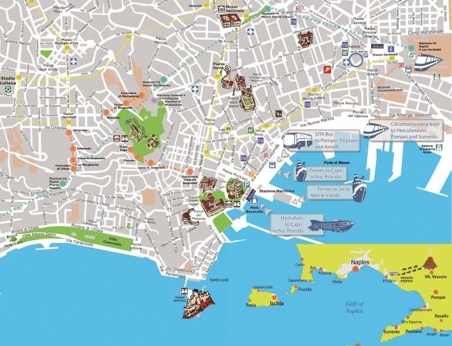 Mapa Napoles