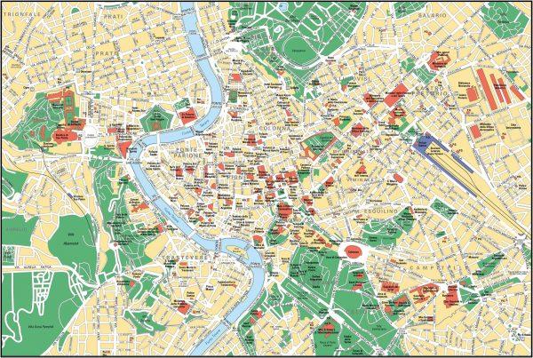 Mapa Roma