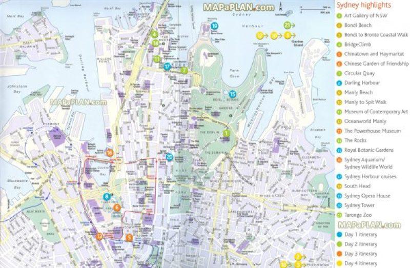 Principales atracciones de Sydney