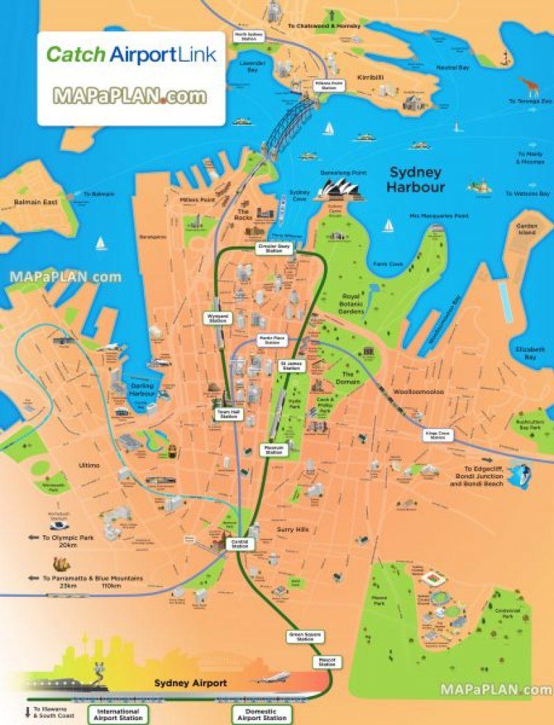 Como llegar del aeropuerto de Sydney a la ciudad