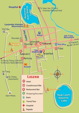 Ratanakiri-Maps