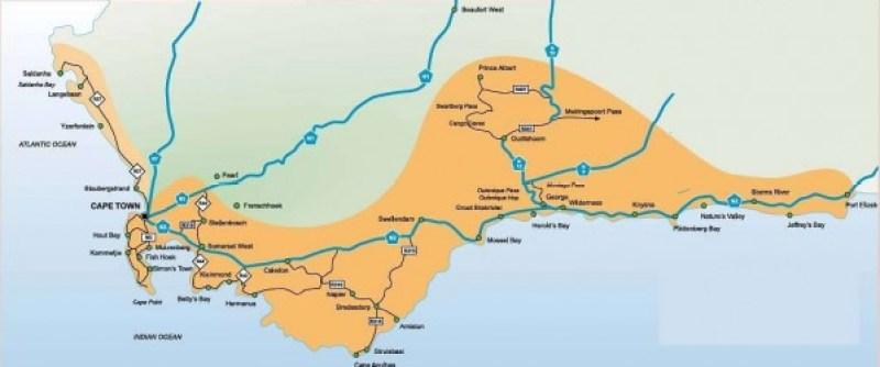 Nuestro recorrido por el sur de Africa siguiendo la ruta jardín hasta Ciudad del Cabo