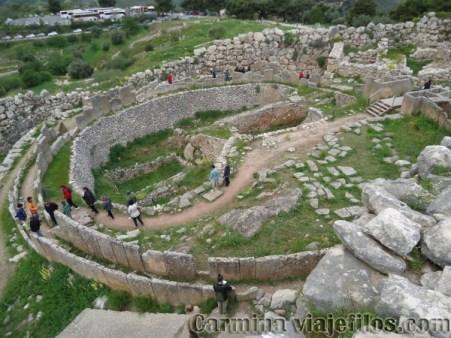 Viajefilos en Grecia, Micenas 007