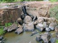 Cachoeira de Missão Velha durante período seco (verão)