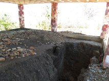 Local da escavação