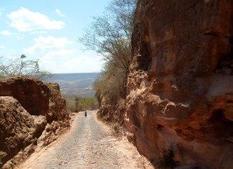 Estrada que leva ao Pontal de Santa Cruz