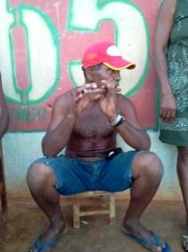 Sebastião, líder comunitário