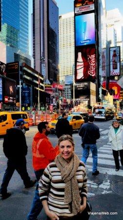 Times Square em obras