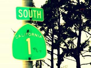 Placa da Califórnia 1 - De San Francisco a Monterey