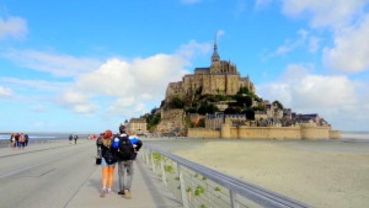 Entrada do Mont Saint-Michael na Normandia - O melhor lugar pra ir na França