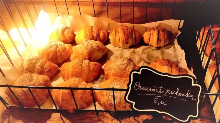Croissants da padaria artesanal Du Pain - Mercado Central de BH