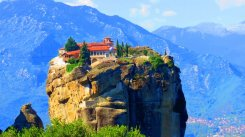 Meteora na Grécia