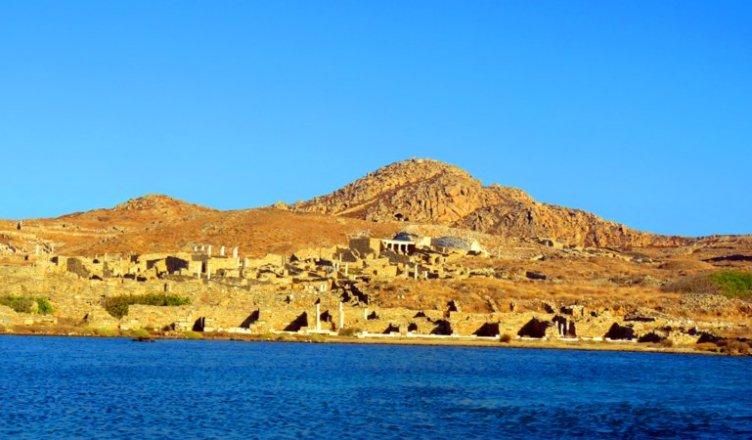 O que fazer em Mykonos - Visita a Ilha de Delos