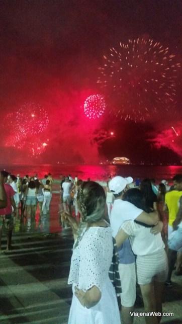 Rio de Janeiro - Ano novo na praia de Copacabana