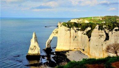 Trilhas das Falésias de Etretat na França
