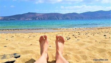 Agios Sostis - A praia mais bonita de Mykonos