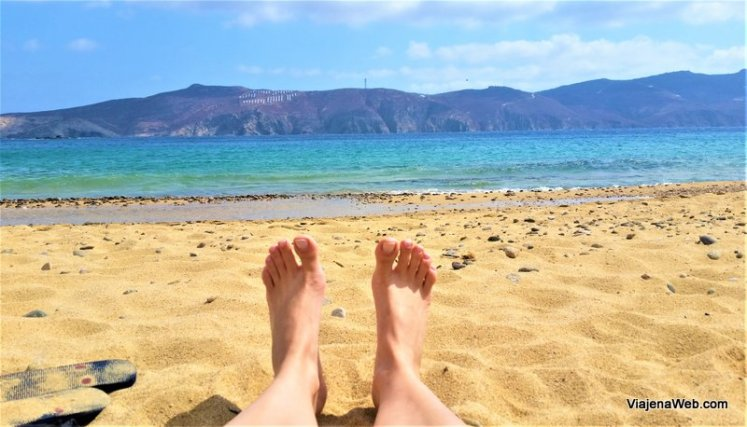 Agios Sostis – A praia mais bonita de Mykonos