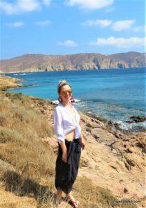 Praias em Mykonos-Agios Sostis