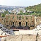 Teatro Odeon Herodes em Atenas