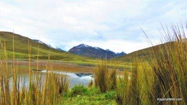 Laguna Patococha perto do Glacier Pastoruri